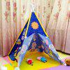 Waterproof Children Oversized Toy House Tent - BLUEBERRY BLUE