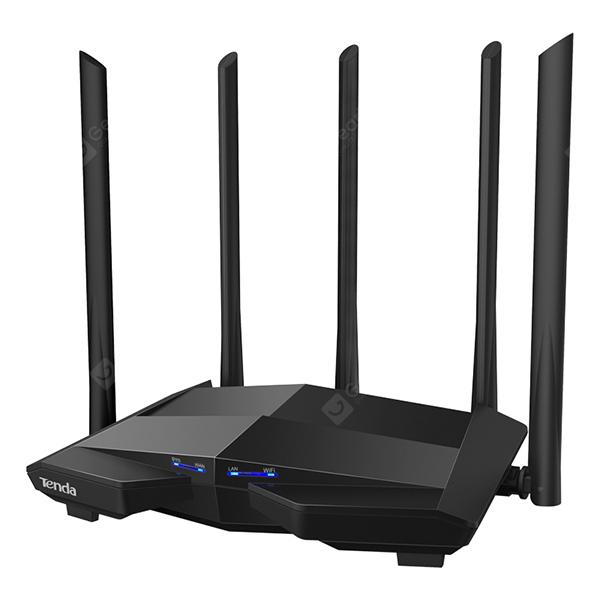 TENDA AC11 2.4GHz / 5GHz WiFi AC 1200M Large-scale Gigabit Dual-band Wireless Router