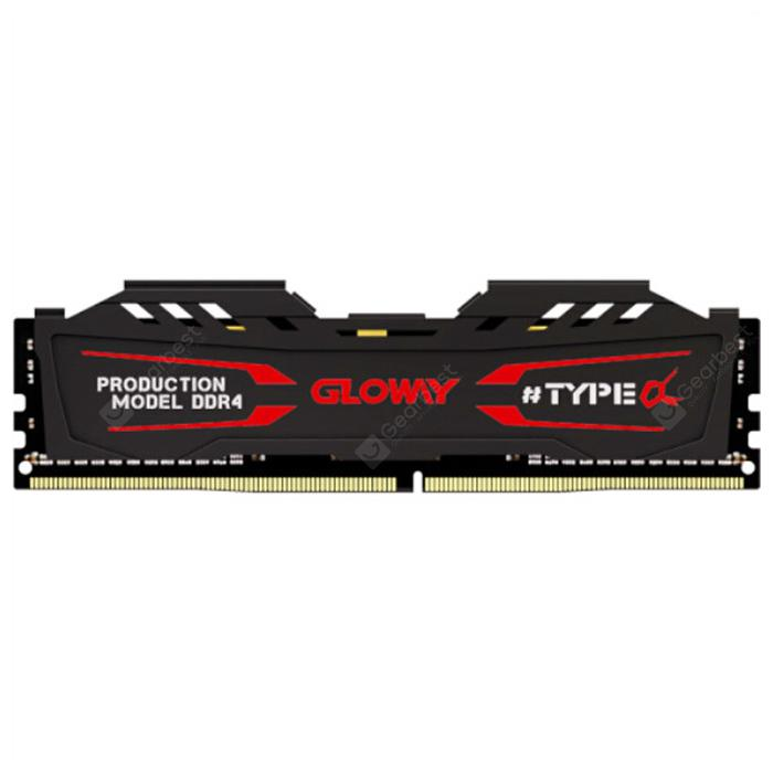 Gloway TYPE α Series DDR4 Memory Module - Dark Slate Grey 4G