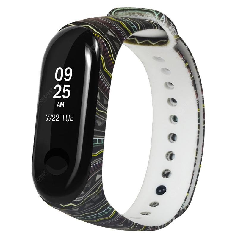 Painted Pattern Replacement Strap for Xiaomi Mi Band 3