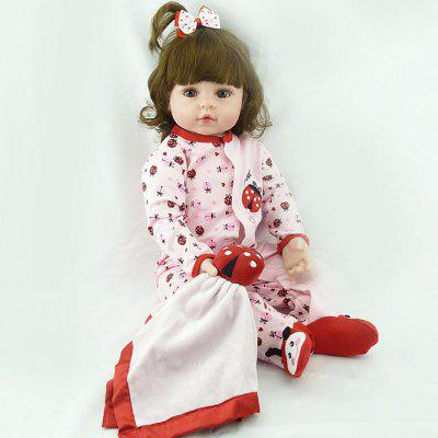 NPK 47cm Soft Real Touch Silicone Reborn Toddler Baby Dolls Kids Birthday Christmas Gift