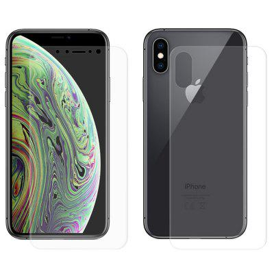 Hat - Prince Front + Rear 3D Hydrogel Film for iPhone XS / X