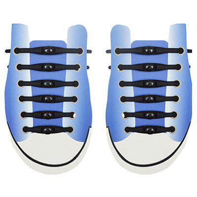 Silicone Shark Shoelaces 12pcs