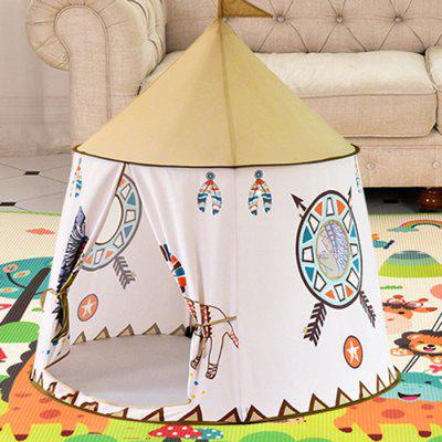 Children's Play Tent Indian Lion Pattern Toy Playhouse