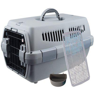 HanHanLeYuan Pet Dog Cat Portable Shipping Box for Travelling