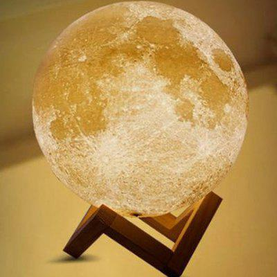 M001 3D Printing Moon Rechargeable Portable Lamp