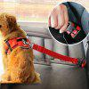Pet Car Quality Material Seat Belt Dog Traction Rope - ARMY GREEN