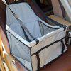 Car Single Pet Safety Seat - GRAY