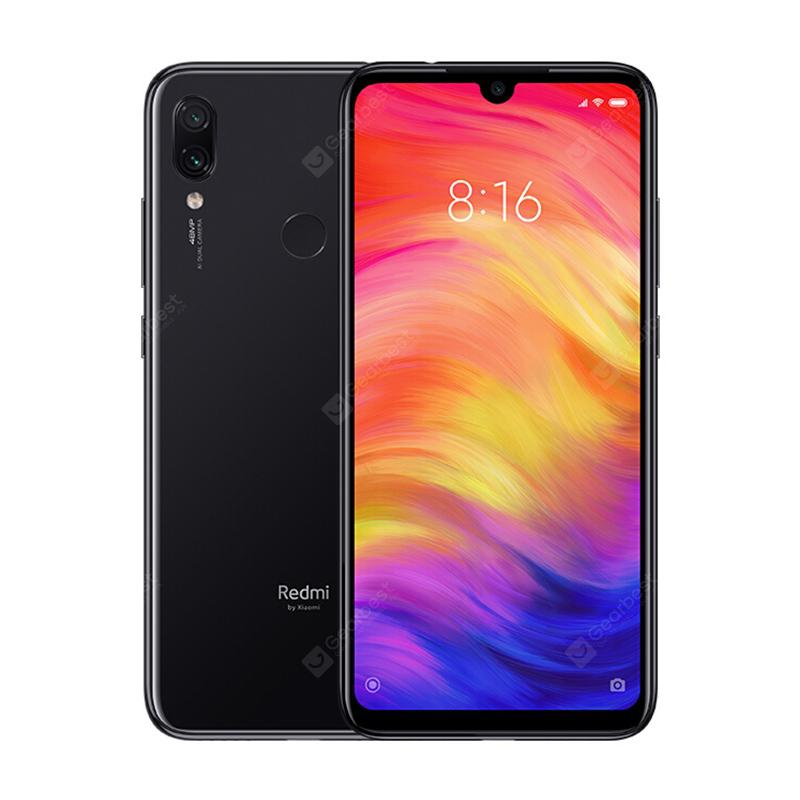 Xiaomi Redmi Note 7 4G Phablet Global Version - Black