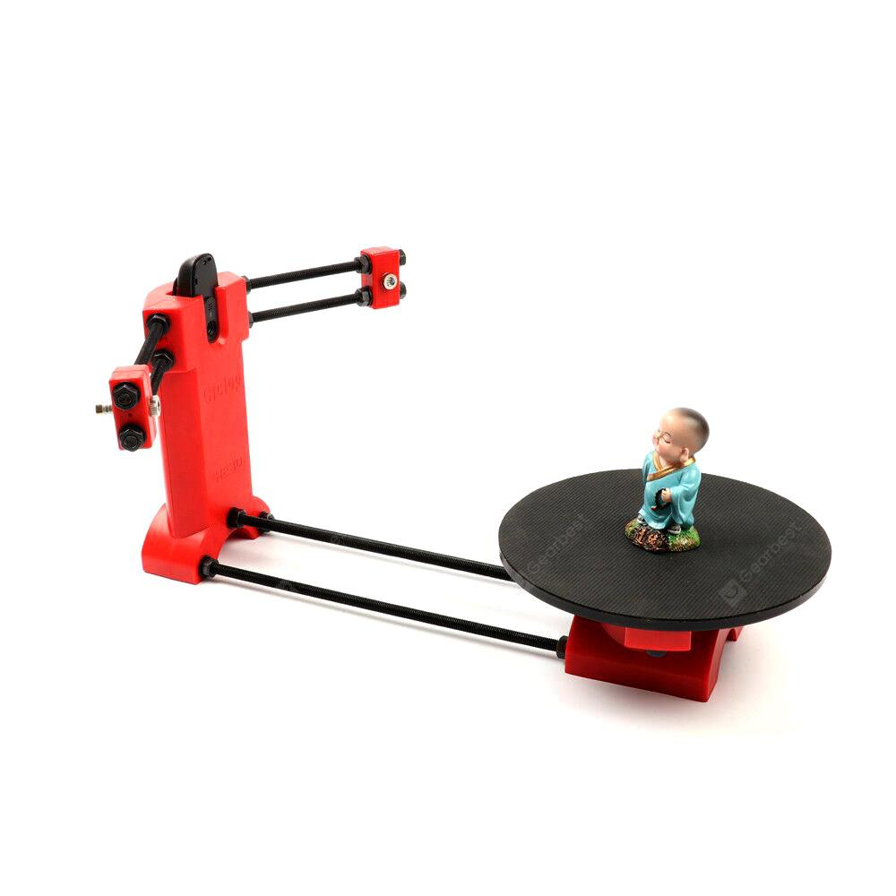 He3D Ciclop Desktop Laser 3D Scanner - Ruby Red