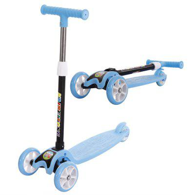 Kids Foldable Scooter Adjustable Tricycle