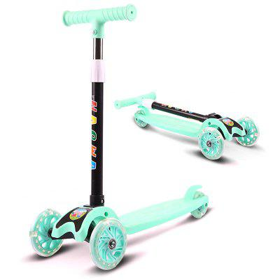 Kinder Faltbarer Roller Einstellbarer Tricycle