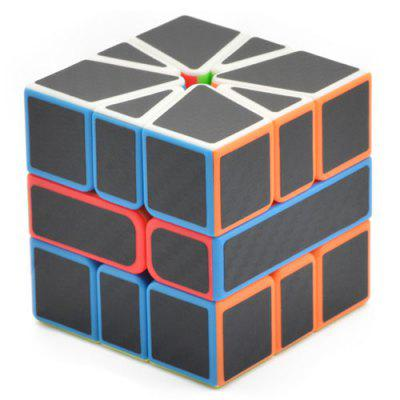 SQ - 1 Fibră de carbon Smooth Puzzle Magic Cube
