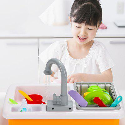 Automatic Circulation Educational Toy Dishwashing Set