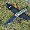 Outdoor Camping Honor Small Straight Knife - BLACK