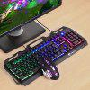 LANGTU K006 Mechanical Feel Gaming Keyboard RGB - BLACK