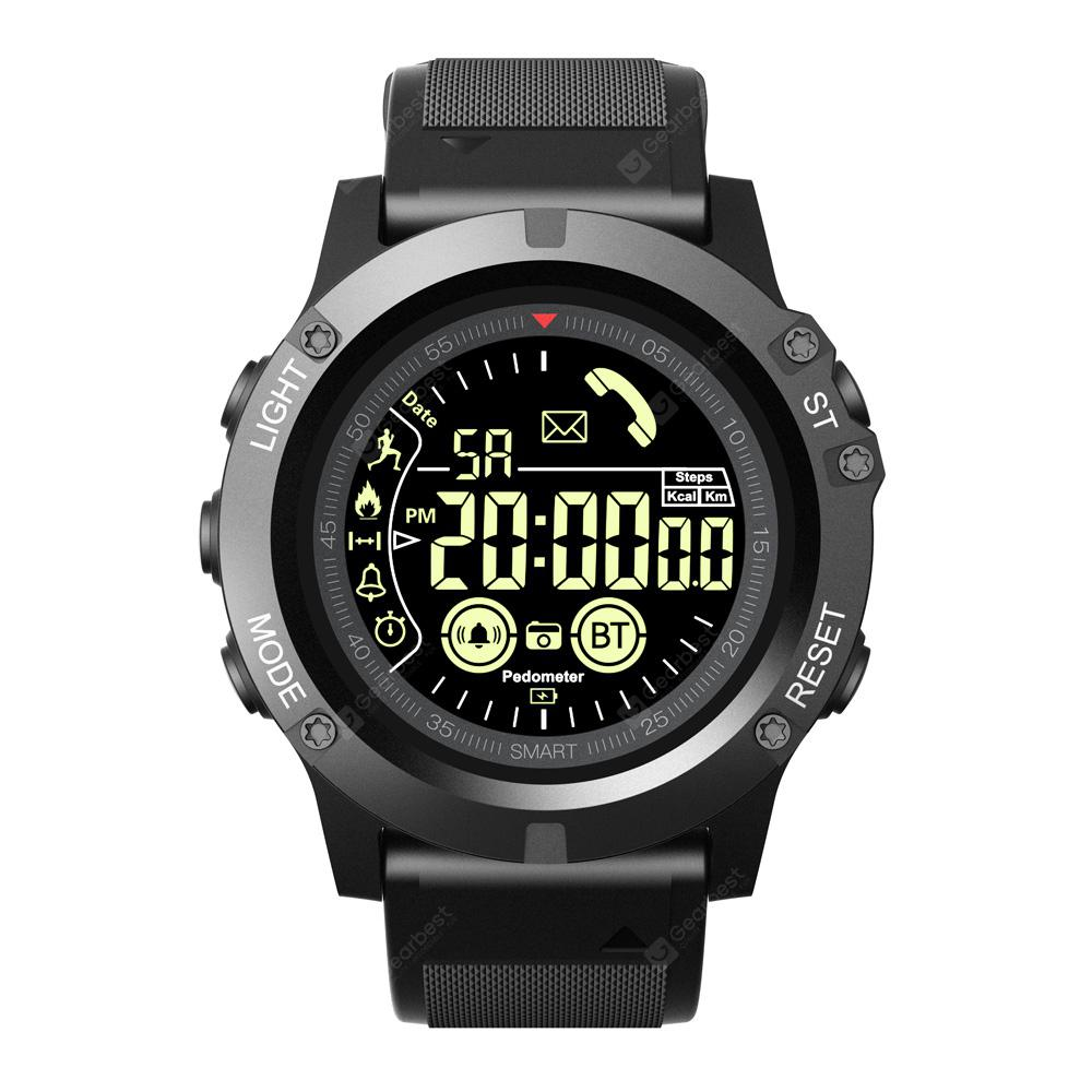 Alfawise EX17S Sports Smart Watch Android iOS Compatibility - Black