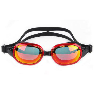 WHALE MM - 8700 Adult Plated Swimming Goggles