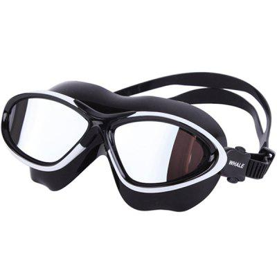 WHALE MM - 7400 Adult Plated Swimming Goggles