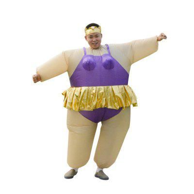 Balet Hula Dance Fat Man Doll Kostým