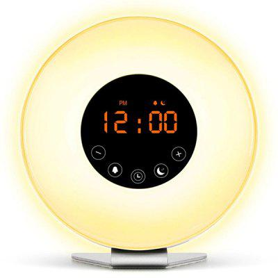 Smart Wake-up LED Touch Light Alarm Clock