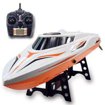 2.4G Remote Control Rowing Speedboat High Speed Boat Charging Airship
