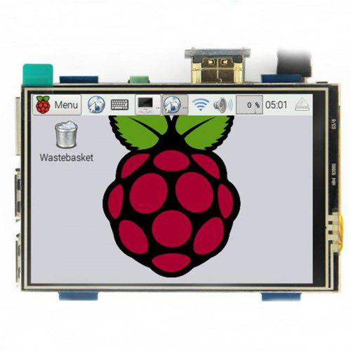 MPI3508 3 5 inch USB Touch Screen Real HDMI Display for Raspberry Pi 3 / 2  / B Plus / B / A Plus