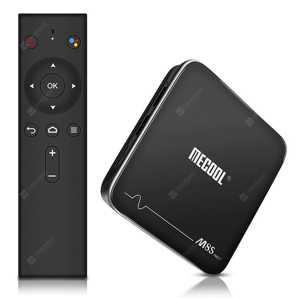 MECOOL M8S PRO+ TV Box with Voice Remote