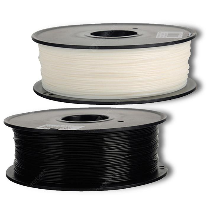 Alfawise 3D Printer PLA Filament - Multi Black + white