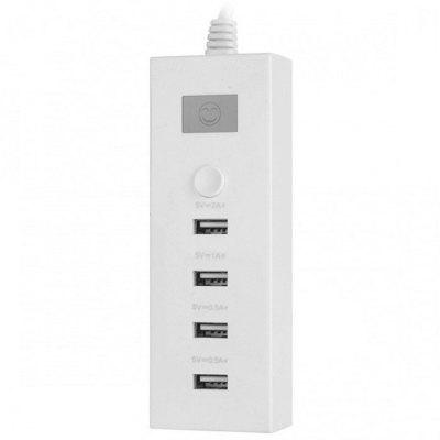 4 Ports Intelligent Fast Charger USB Plug
