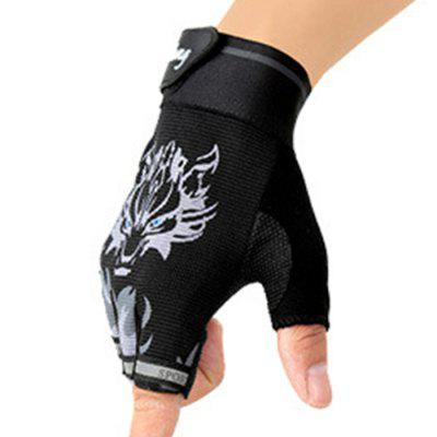 Semi-finger Motorcycle Gloves 2PCS