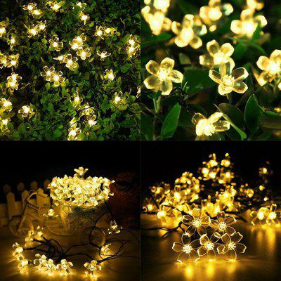 Outdoor Multicolor Party Dekoration LED Solar Lichterkette