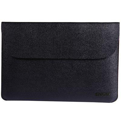 ENKAY 13 inch Cross PU Leather Inner Bag Leather Case for Apple Laptop MacBook Air 13.3 / MacBook Pro 13.3