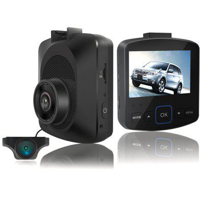 gocomma GS21 2.35 inch Screen Front Rear GPS Driving Recorder Image