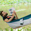 Naturehike Outdoor Ultra Light Hammock Camping Leisure Travel Portable Swing - GRAY CLOUD