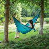 Naturehike Outdoor Ultra Light Hammock Camping Leisure Travel Portable Swing - TURQUOISE