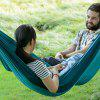 Naturehike Outdoor Ultra Light Hammock Camping Leisure Travel Altalena portatile - TURCHESE