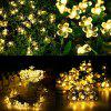 Outdoor Multicolor Party Decoration LED Solar Light String - TRANSPARENT