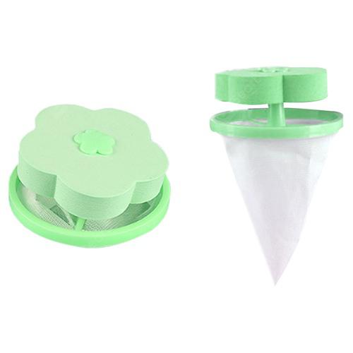 Household Washing Machine Hair Remover - Green 1pc 4