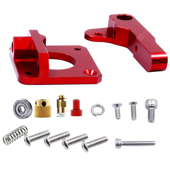 MK8 Extruder Upgraded Replacement 3D Printer Aluminum Drive Feed Kit for 1.75mm Extrusion CR-10 CR-10S