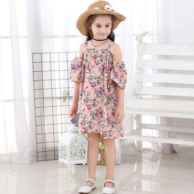 1131 Girl Floral Cute Slip Dress