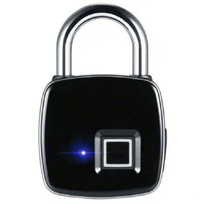 USB Smart Fingerprint Lock Waterproof Anti-theft Padlock