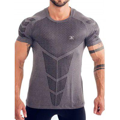 T209 Men's Quick Dry Breathable Training T-shirt
