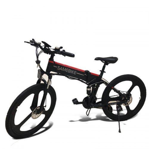 Samebike Lo26 Moped Electric Bike Smart Folding Bike E Bike