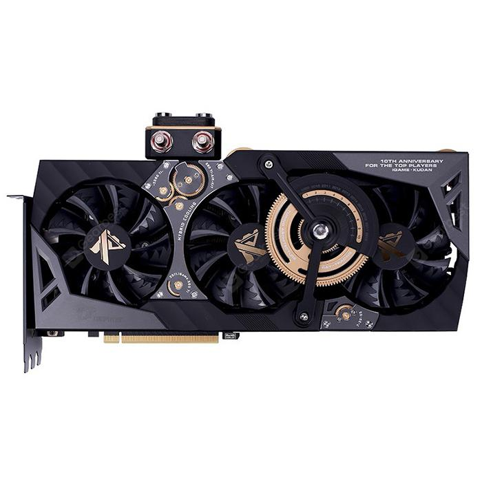 Colorful iGame GeForce RTX 2080 Ti Kudan Nvidia Graphics Card - Black