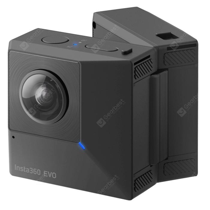 Insta360 evo Multifunctional Anti-Shake Folding Camera - Black