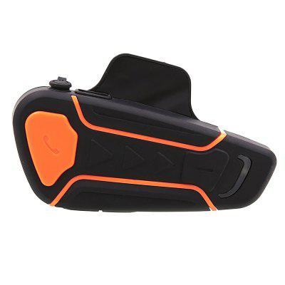 WT003 Walkie Talkie Bluetooth Inalámbrico de Casco de Motocicleta 1000m