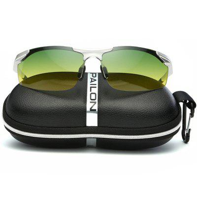 Day and Night Sunglasses for Driving with Aluminum Magnesium Frame