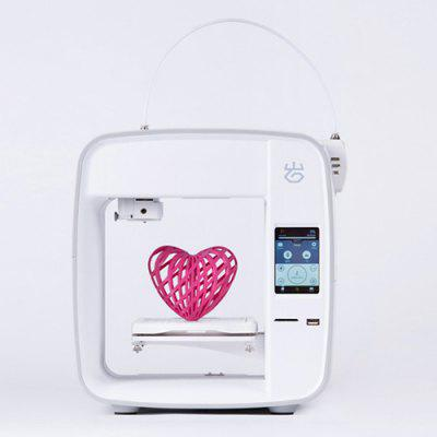 Smart 3D Printer with Cloud WiFi Mobile APP Control Hot Bed USB Drive SD Card Connectivity Live Monitoring