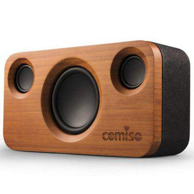 Comiso M10 Fashionable Classic Bluetooth Wood Stereo Speaker